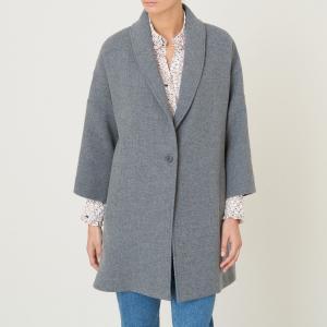 Пальто LOTUS BA&SH. Цвет: серый
