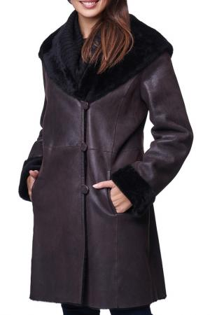 Sheepskin coat Jean Guise. Цвет: brown