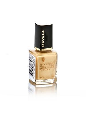 Лак для ногтей профессиональный Gold Mavala. Цвет: золотистый