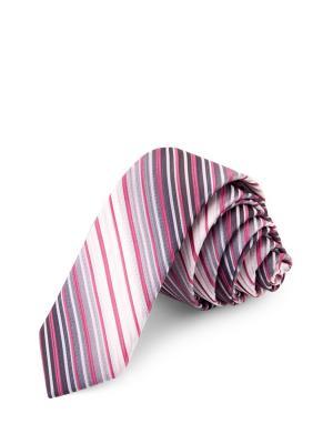 Галстук CASINO. Цвет: серый, розовый
