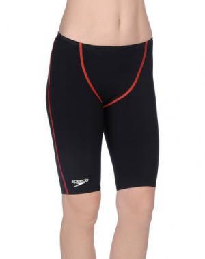 Пляжные брюки и шорты SPEEDO. Цвет: черный