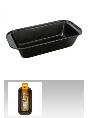 Форма для выпечки прямоугольная 25 см JJA. Цвет: черный