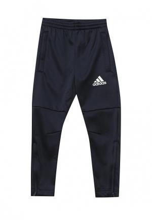 Брюки спортивные adidas Performance. Цвет: синий