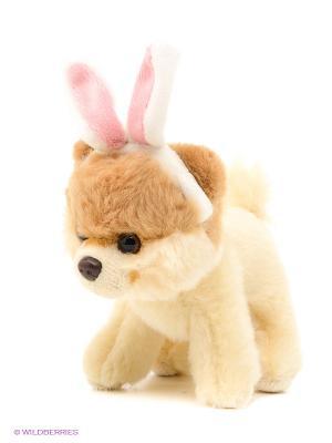Игрушка мягкая Itty Bitty Boo, Bunny Ears Gund. Цвет: светло-коричневый, светло-бежевый