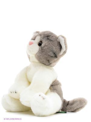 Котик MAXITOYS. Цвет: серый, молочный
