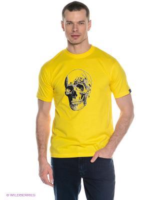 Футболка DARE 2B. Цвет: желтый