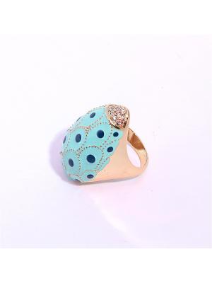 Кольцо TABORA. Цвет: светло-голубой, розовый, светло-желтый