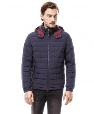 Куртка HAYAS JK-0206 NAVY HENDERSON. Цвет: синий