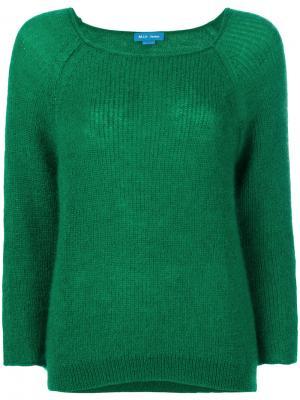 Свитер Bowen Mih Jeans. Цвет: зелёный
