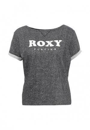 Футболка Roxy. Цвет: черный