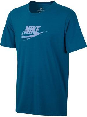 Футболка M NSW TEE TB SEASONAL FTRA Nike. Цвет: синий