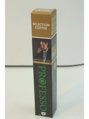 Кофе в капсулах PROFESSO Selection 8шт PROFFI. Цвет: черный, коричневый