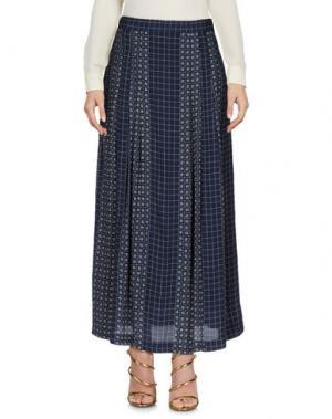 Длинная юбка NICE THINGS BY PALOMA S.. Цвет: темно-синий