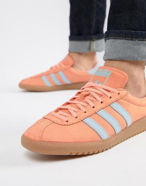 Adidas Originals Оранжевые кроссовки Bermuda CQ2784. Цвет: оранжевый