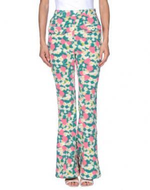 Повседневные брюки SRETSIS. Цвет: зеленый