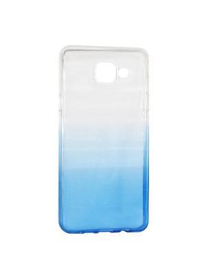 Крышка задняя для Samsung A5 2016/A510 Силикон IQ Format. Цвет: синий