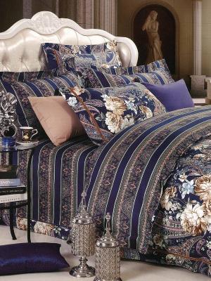 Комплект постельного белья Сальма Sofi de Marko. Цвет: синий