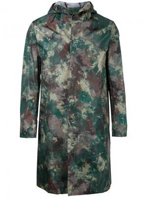 Камуфляжное пальто Mackintosh. Цвет: многоцветный