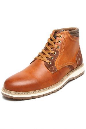 Ботинки Patrol. Цвет: светло-коричневый