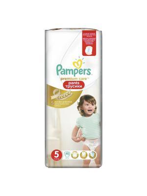 Трусики Premium Care Pants 12-18кг, размер 5, 40 шт. Pampers. Цвет: золотистый