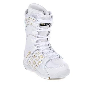 Ботинки для сноуборда женские  Thirteen White Limited4You