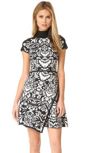 Платье Stella Parker. Цвет: золотой