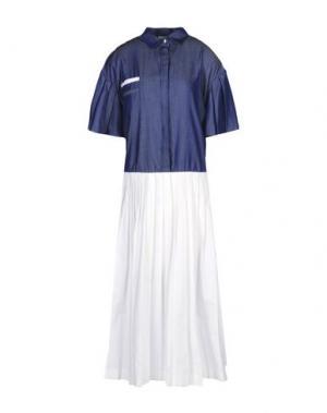 Длинное платье LOVEBIRDS. Цвет: грифельно-синий