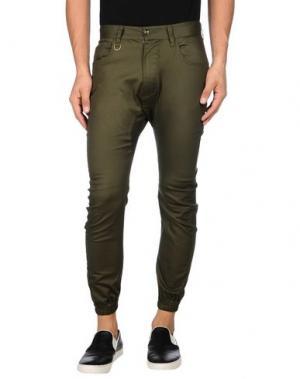 Джинсовые брюки PUBLISH. Цвет: зеленый-милитари