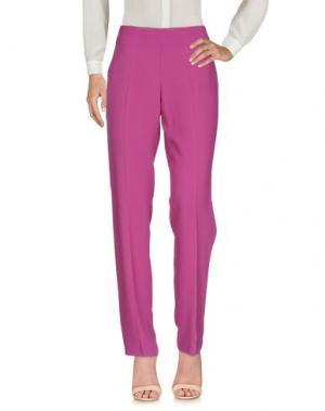 Повседневные брюки MARTA PALMIERI. Цвет: розовато-лиловый