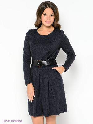 Платье Amelia Lux. Цвет: синий