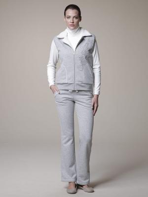 Спортивный костюм тройка RELAX MODE. Цвет: серый меланж