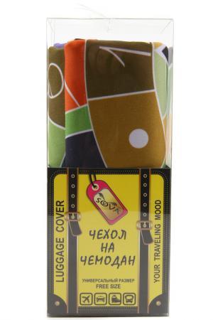 Чехол на чемодан SOVA COVER. Цвет: машина времени