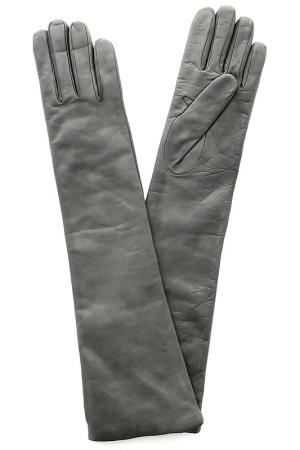 Перчатки SERMONETA. Цвет: серый