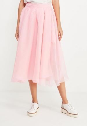 Юбка Love & Light. Цвет: розовый