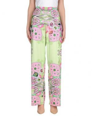 Повседневные брюки NAUGHTY DOG. Цвет: светло-зеленый