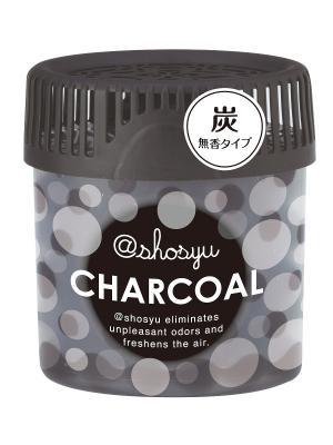 Поглотитель запаха в гелевых шариках Shosyu с углем 150г Kokubo. Цвет: черный