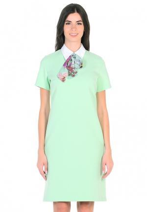 Платье Maison de la Robe. Цвет: зеленый