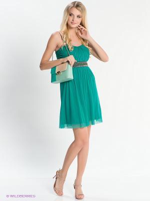 Платье EASY WEAR. Цвет: зеленый