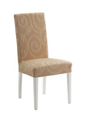 Чехол для стула Милан (кремовый) bonprix. Цвет: кремовый