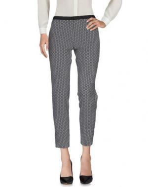 Повседневные брюки TERESA DAINELLI. Цвет: серый