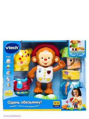 Развивающая игрушка Одень обезьянку! Vtech. Цвет: коричневый, белый