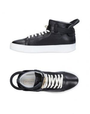 Высокие кеды и кроссовки SPAZIOMODA. Цвет: черный