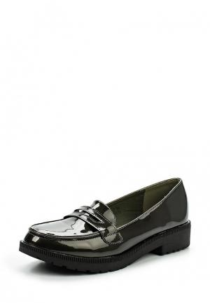 Лоферы Sweet Shoes. Цвет: хаки