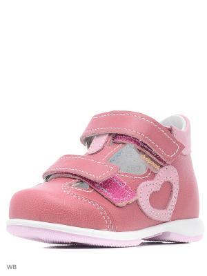 Сандалии Детский скороход. Цвет: розовый