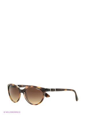 Очки солнцезащитные 0VO2894SB-191613 Vogue. Цвет: коричневый