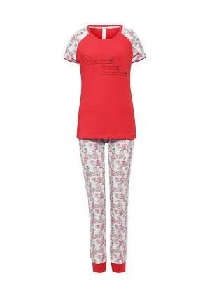 Пижама Relax Mode. Цвет: красный