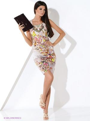 Платье Ana Alcazar. Цвет: бежевый
