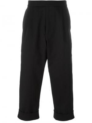 Укороченные брюки J.W.Anderson. Цвет: чёрный