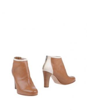 Полусапоги и высокие ботинки TRIVER FLIGHT. Цвет: коричневый