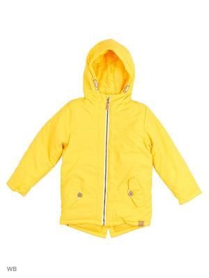 Куртка Modis. Цвет: светло-желтый